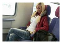 Ficken im Zug ohne Gummi